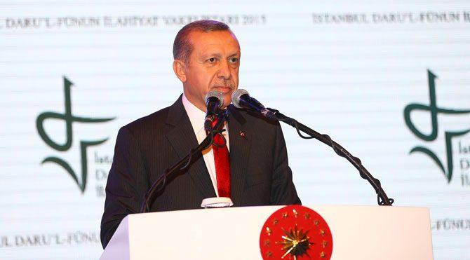 Erdoğan'dan 'koalisyon temennisi'