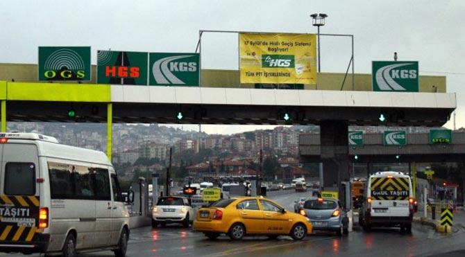 İstanbul'daki otoyol gişeleri kalkıyor mu?