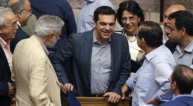 AB'den Yunanistan'a acil yardım