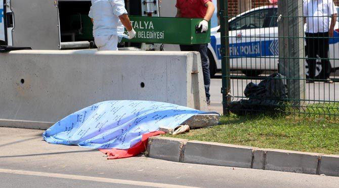 Çinli turistin feci ölümü!