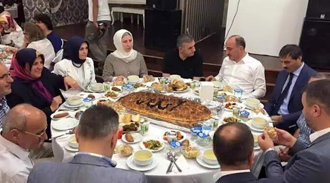 """""""Arapça Allah yazan pide"""