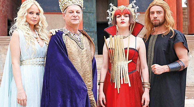 Malum Bizans'ı sıcak vurdu