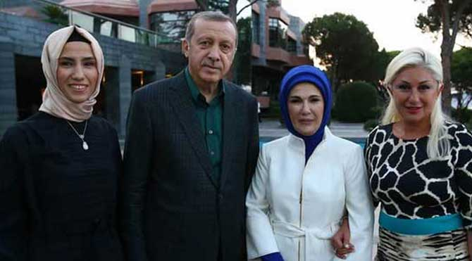"""Erdoğan ünlü isimleri """"İslam'a davet etti"""""""