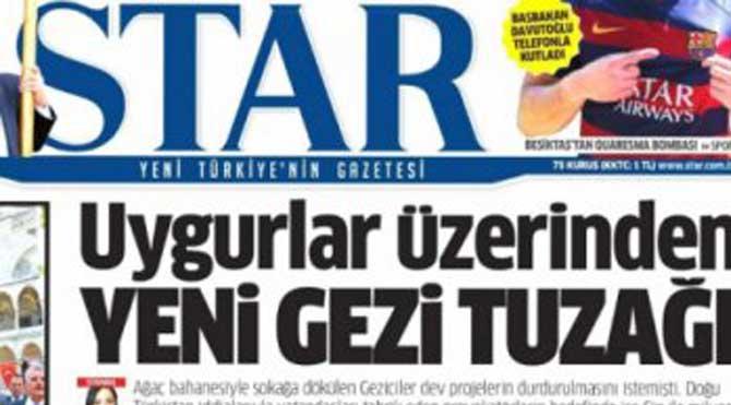 Star Muhabiri Gazetesini Suçladı