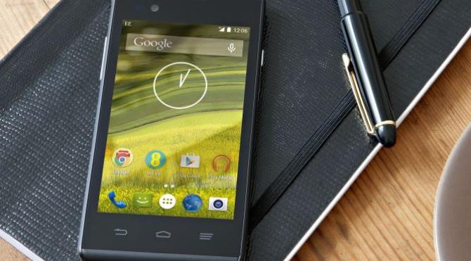 Dünya'nın 4g destekli en ucuz akıllı telefonu ee satışa sunuldu