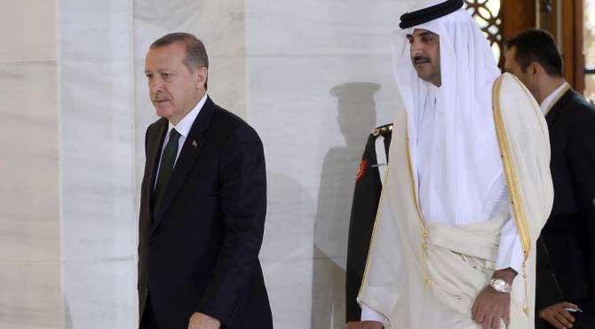 Katar Emiri eli boş dönmüyor