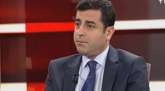 Demirtaş PKK'ya silah bırakma çağrısı yaptı!