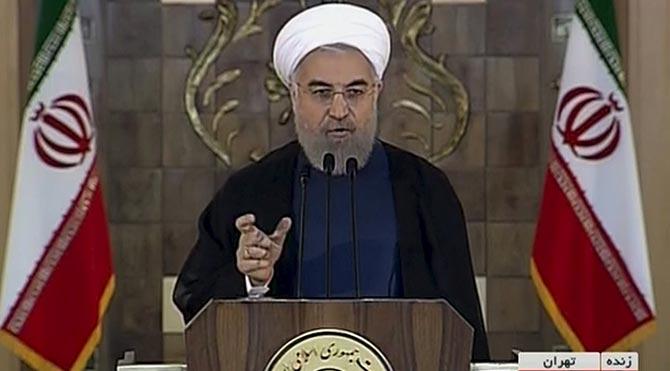 """Ruhani: """"Atom bombası yapmak dinimizce yasak"""""""