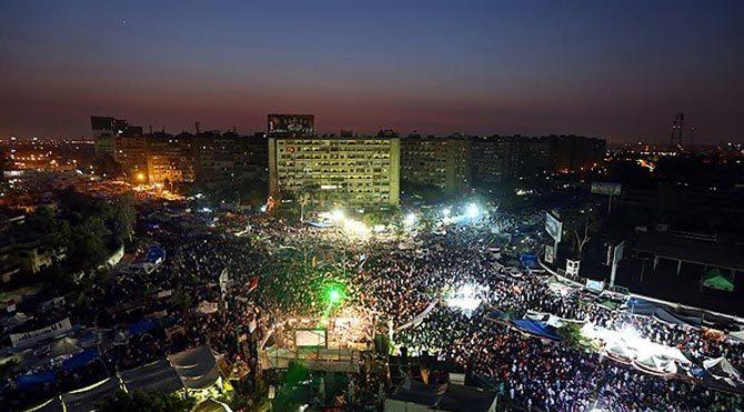 Rabia Meydanı'nın adı değiştirildi
