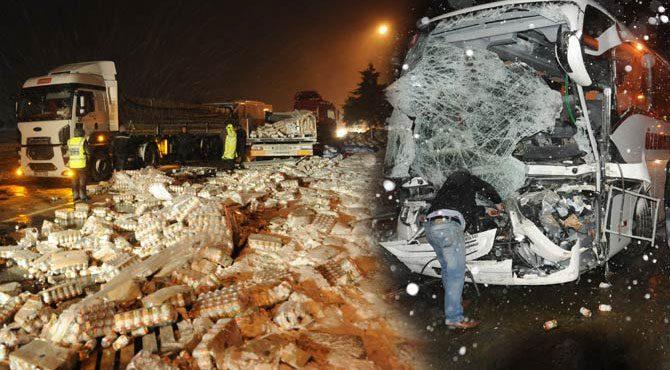 Trafik kaza istatistikleri çığlık atıyor!