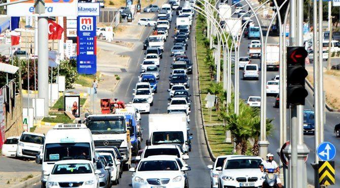 İstanbul'un trafiği Bodrum'a taşındı