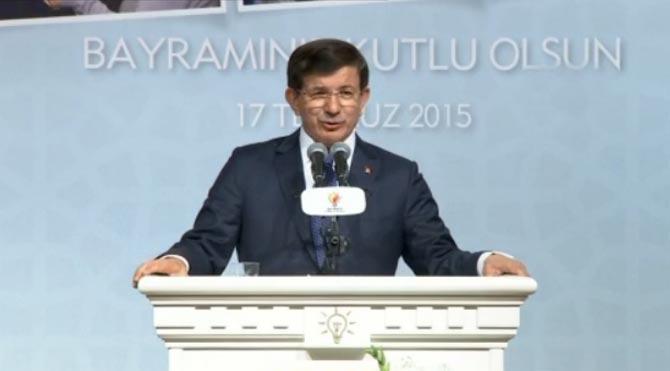 Davutoğlu da 'erken seçim' vurgusu yaptı