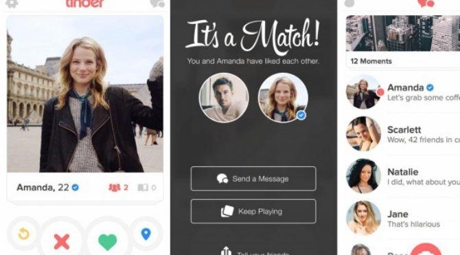 Tinder'da ünlülerin hesapları onaylı olacak