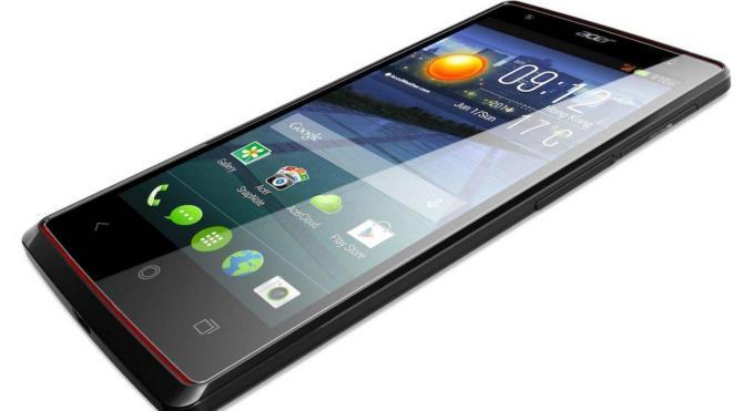 Acer S59, 13 MP'lik selfie kamerasıyla dikkat çekiyor