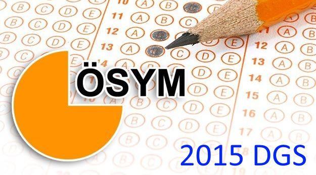 2015 Dikey Geçiş Sınavı (2015-DGS): Sınava Giriş Belgeleri Erişime Açıldı!