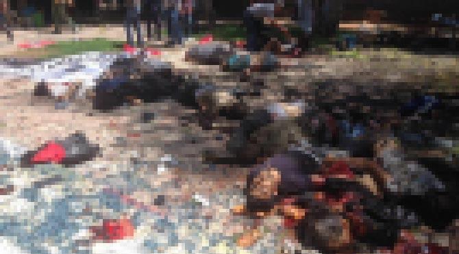 Suruç'ta bombalı saldırı!