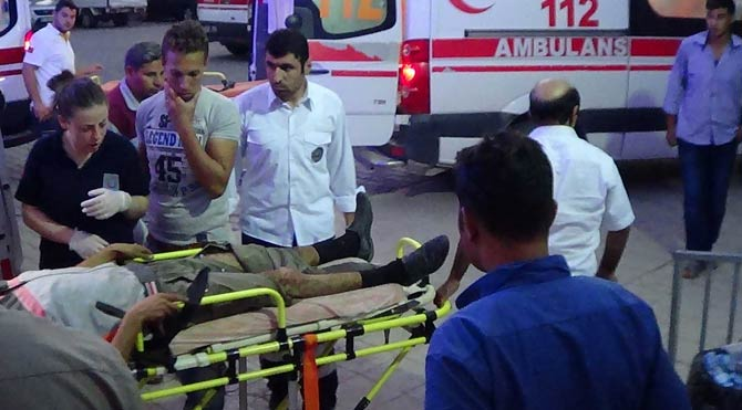 Suriye sınırında mayın patladı