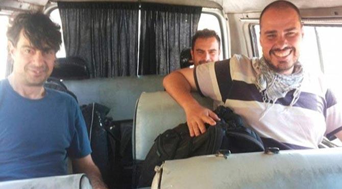 Üç İspanyol gazateci kaçırıldı iddiası