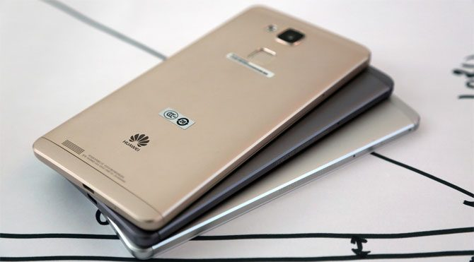 İşte karşınızda: Huawei Mate 8