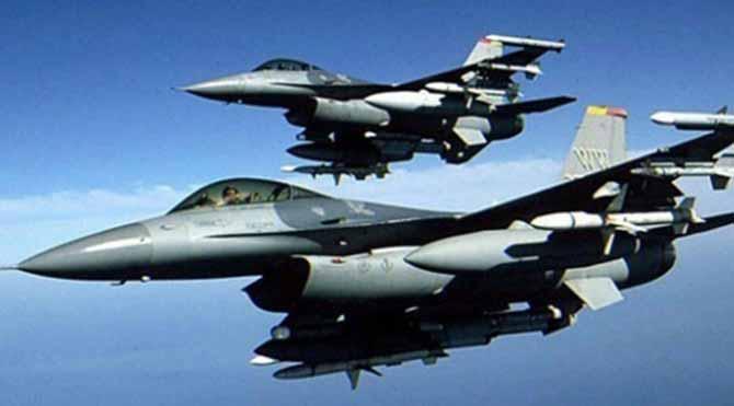 Türk jetleri IŞİD'i vurdu
