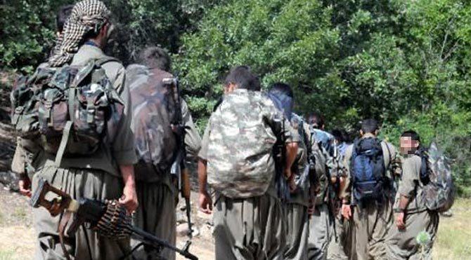 PKK'lı teröristler Diyarbakır'da bir polis kaçırdı!