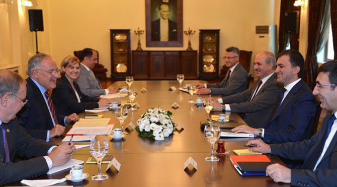 AKP-CHP görüşmesi tamamlandı
