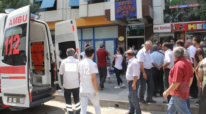 Elazığ'da patlama! 3 yaralı