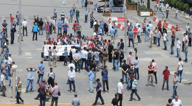 HDP'lilere polis kalkanı
