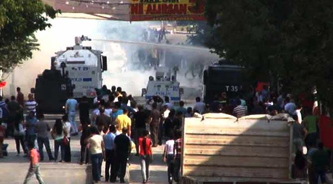 Gazi Mahallesi'nde olaylar çıktı!