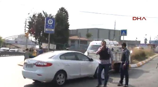 Okmeydanı'nda polise saldırı