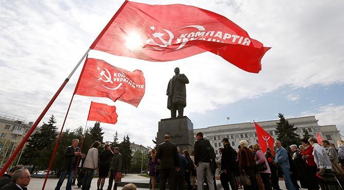 Ukrayna'da komünist partilere seçim yasağı