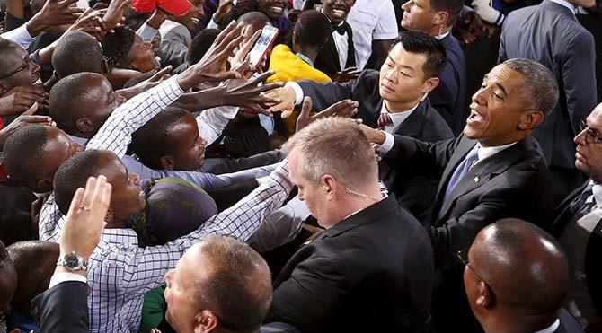 Kenya'da Obama coşkusu