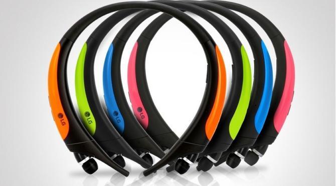 LG'den sporculara özel kablosuz bluetooth kulaklık: LG Tone Active