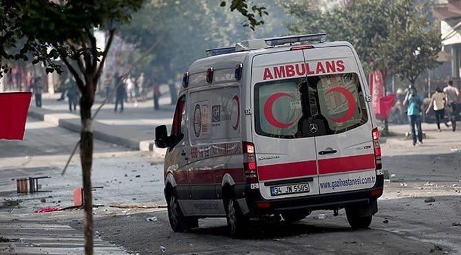 Gazi Mahallesi'nde 1 polis şehit oldu