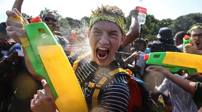 Yazın en güzel etkinliği: Su Savaşı