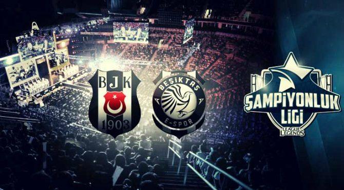 League of Legends ligindeki Beşiktaş E-Spor Kulübü dev bir sponsor ile anlaştı