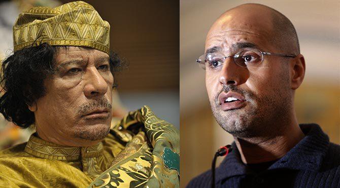 Libya devrik lideri Kaddafi'nin oğlu hakkında idam kararı