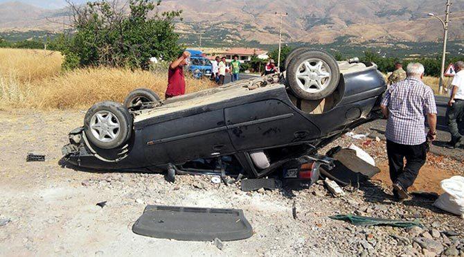 Malatya'da korkunç kaza!