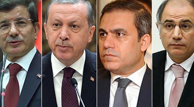'UCM Erdoğan, Davutoğlu, Ala ve Fidan hakkında inceleme başlattı'
