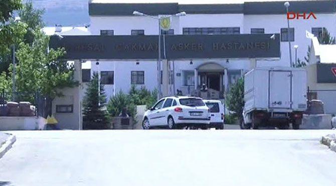 Erzurum'da astsubaya ateş açıldı