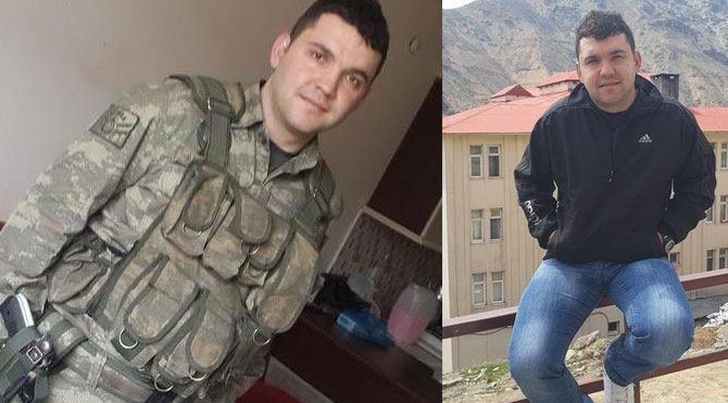 Şehit Ziya Sarpkaya'nın baba ocağına ateş düştü