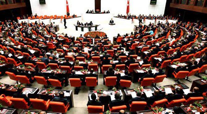 Meclis'te olağanüstü toplantı