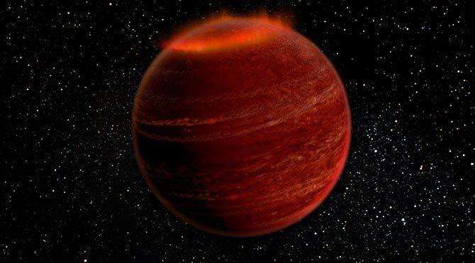Kuzey ışıkları ilk defa başka bir güneş sisteminde görüldü
