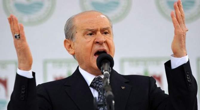 Bahçeli'den HDP ve CHP'ye sert tepki