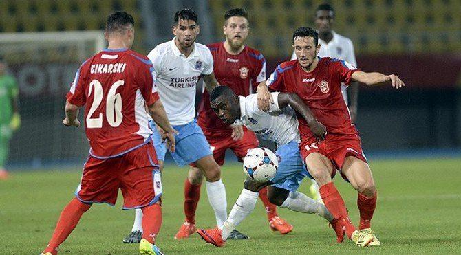 Rabotnicki 1-0 Trabzonspor maç özeti