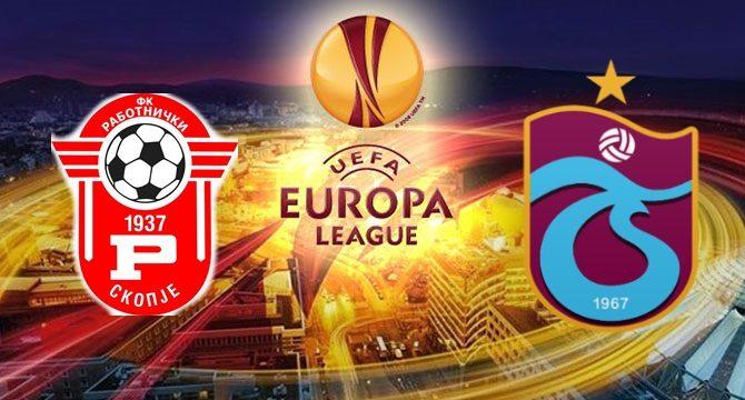 Rabotnicki – Trabzonspor maçı ne zaman saat kaçta hangi kanalda?