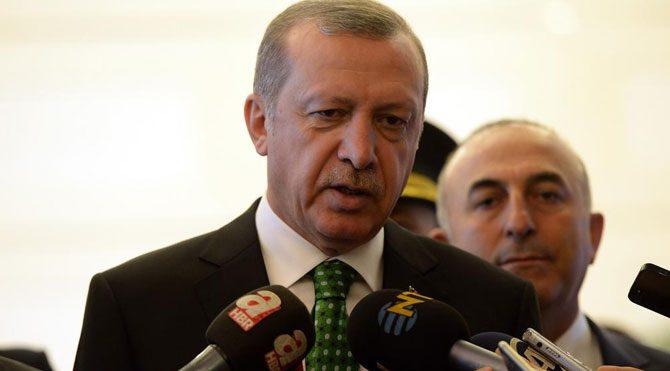 """Erdoğan """"hemen seçim"""" dedi"""