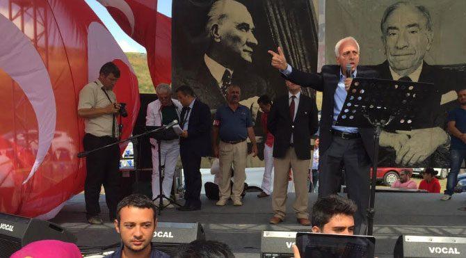 MHP'li muhalifler kazan kaldırdı