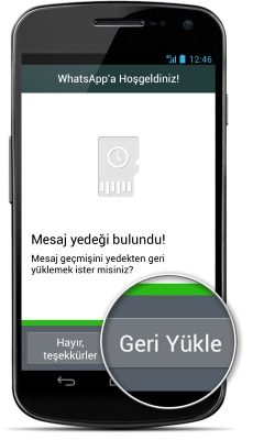 WhatsApp'ta silinmiş mesajları geri getirme tüyosu…