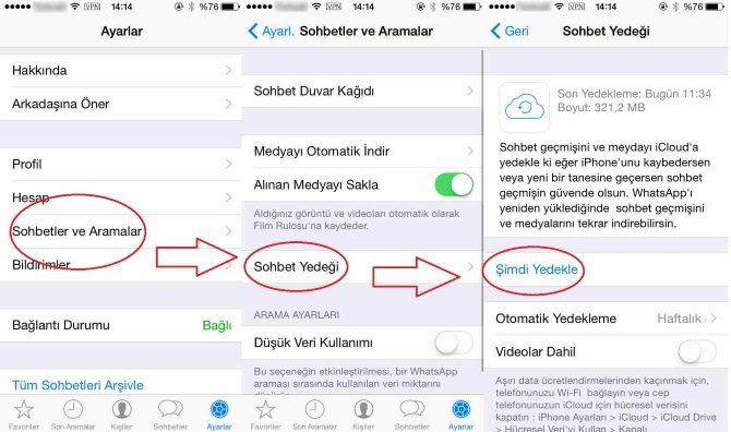Whatsapp Ta Silinen Mesajları Geri Getirme Resimli Anlatım